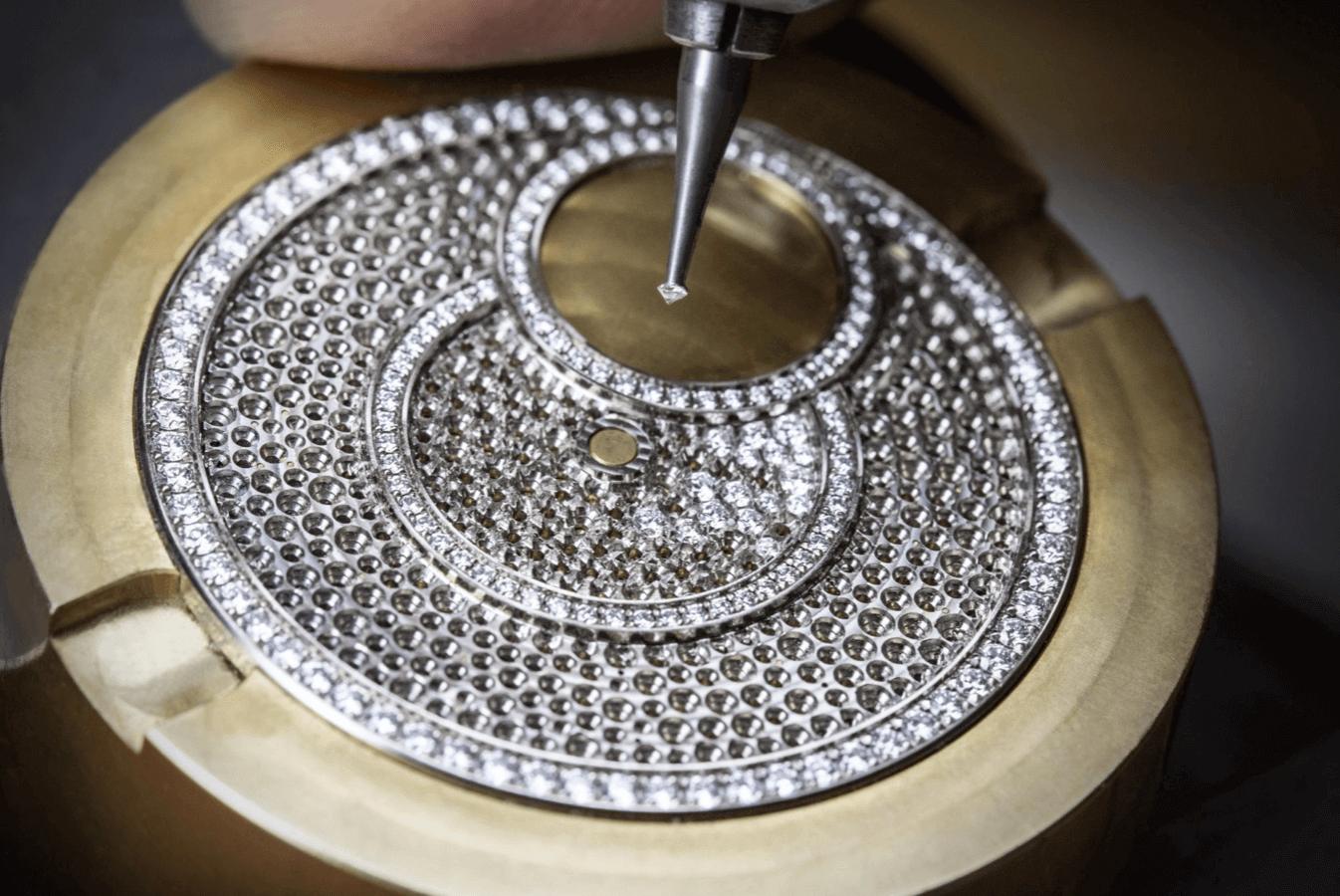 Vacheron Constantin mücevher saat tasarımı