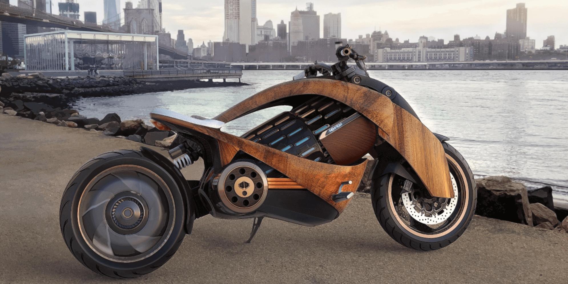 Newron motorsiklet modern tasarım