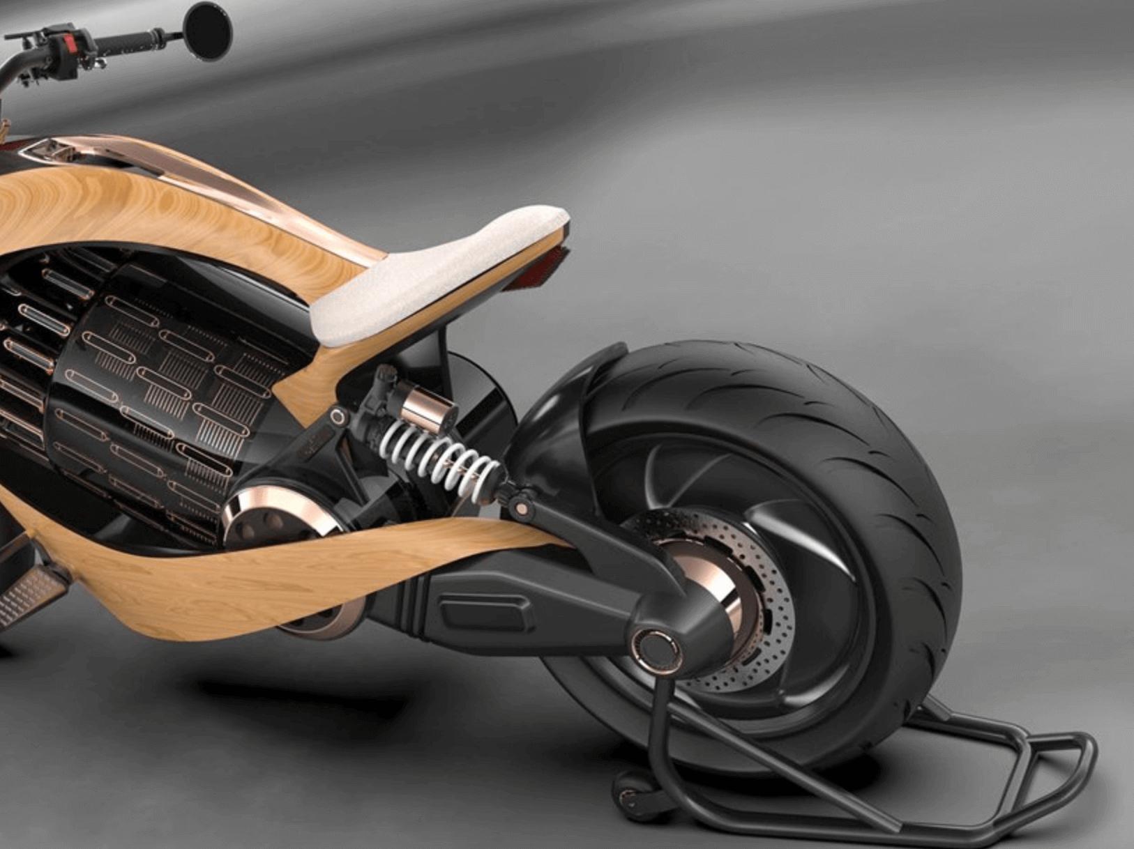 Newron motorsiklet foto