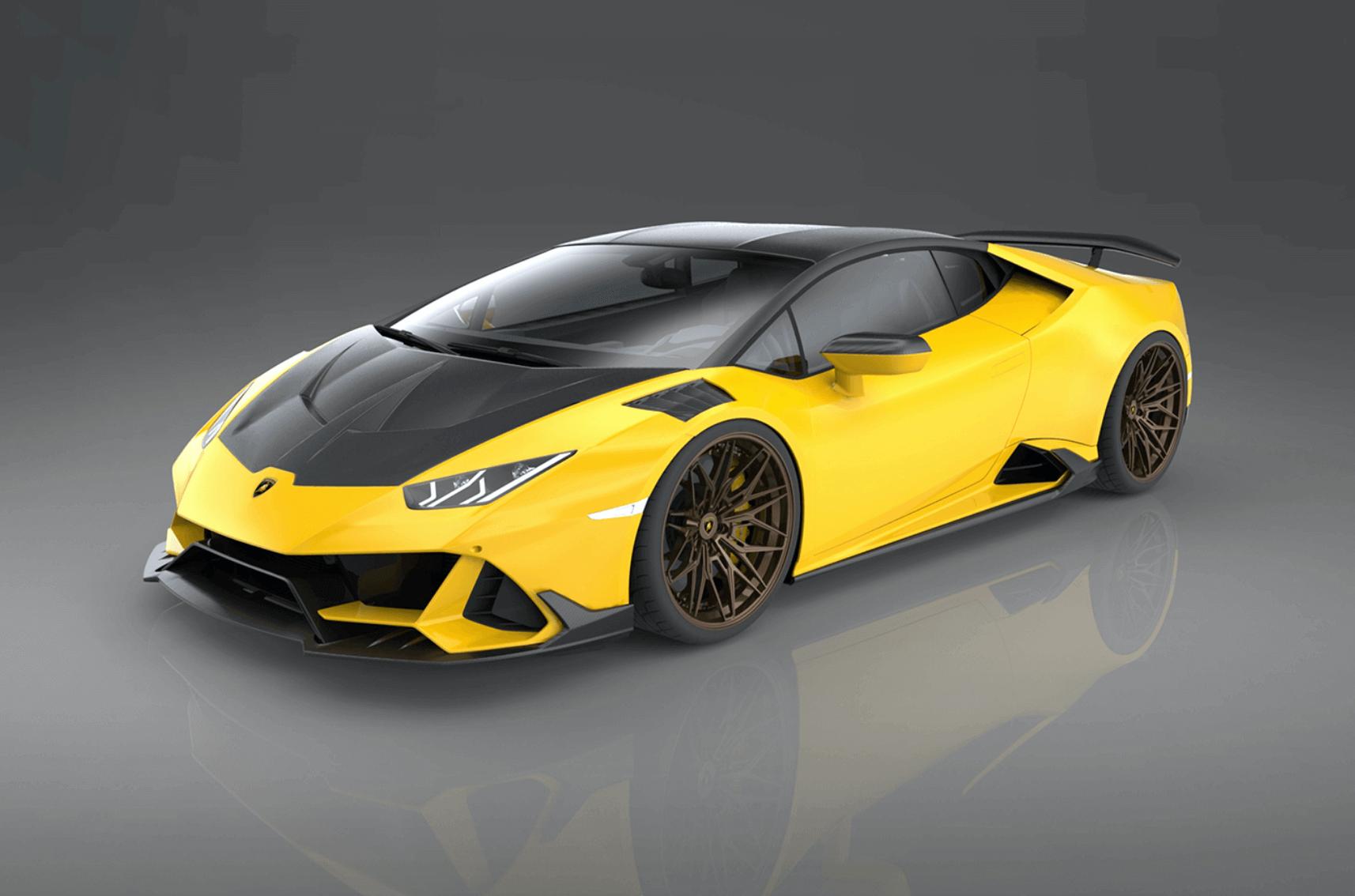 karbon Lamborghini Huracán Evo