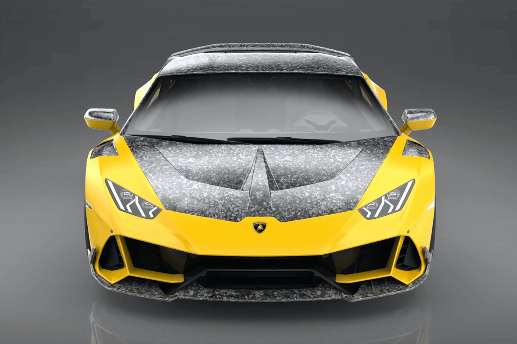 karbon Lamborghini Huracán Evo tasarımı
