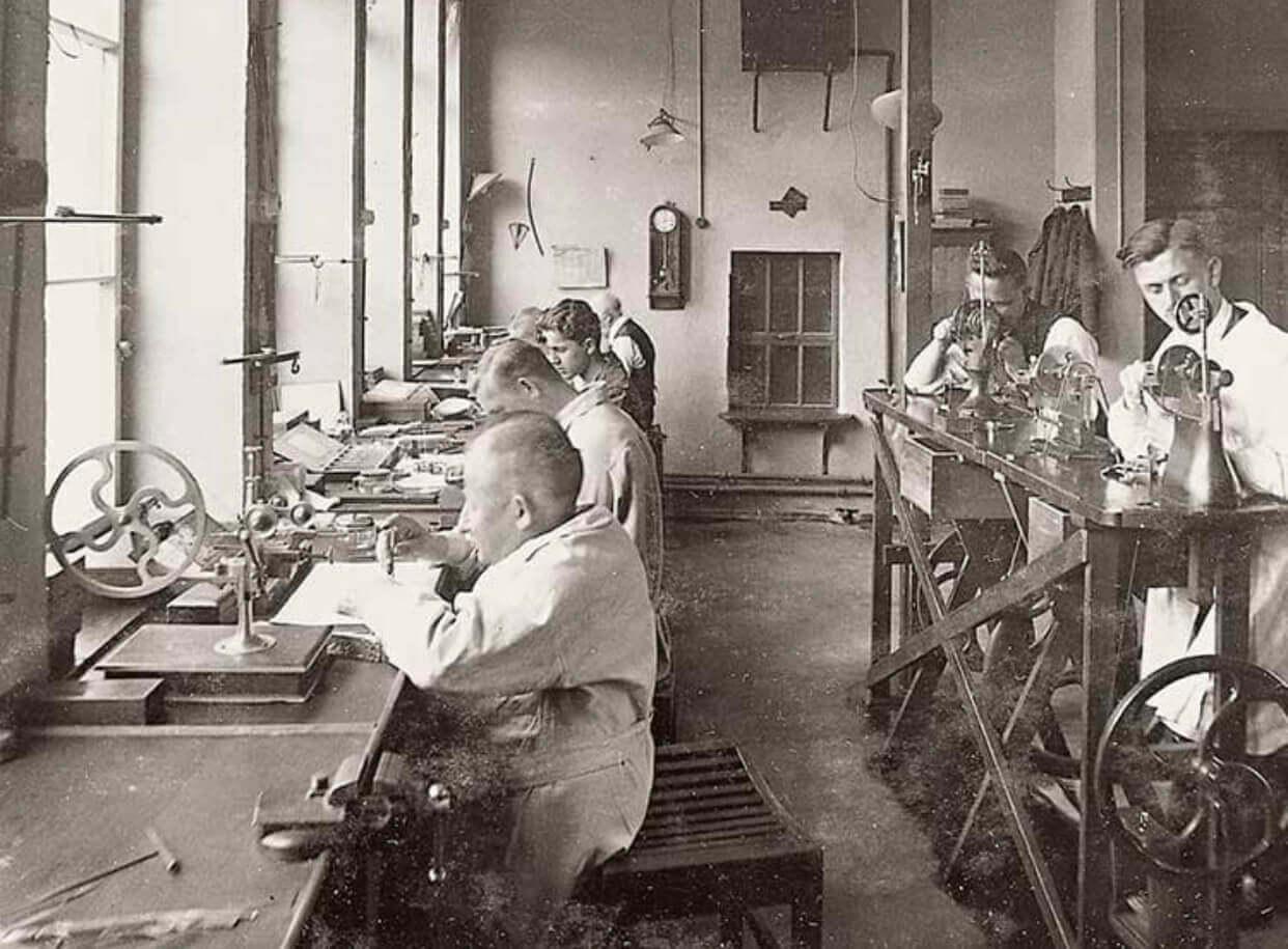 a lange and söhne ilk fabrika