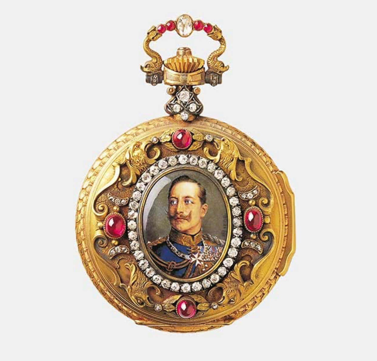kaisser william's pocket watch
