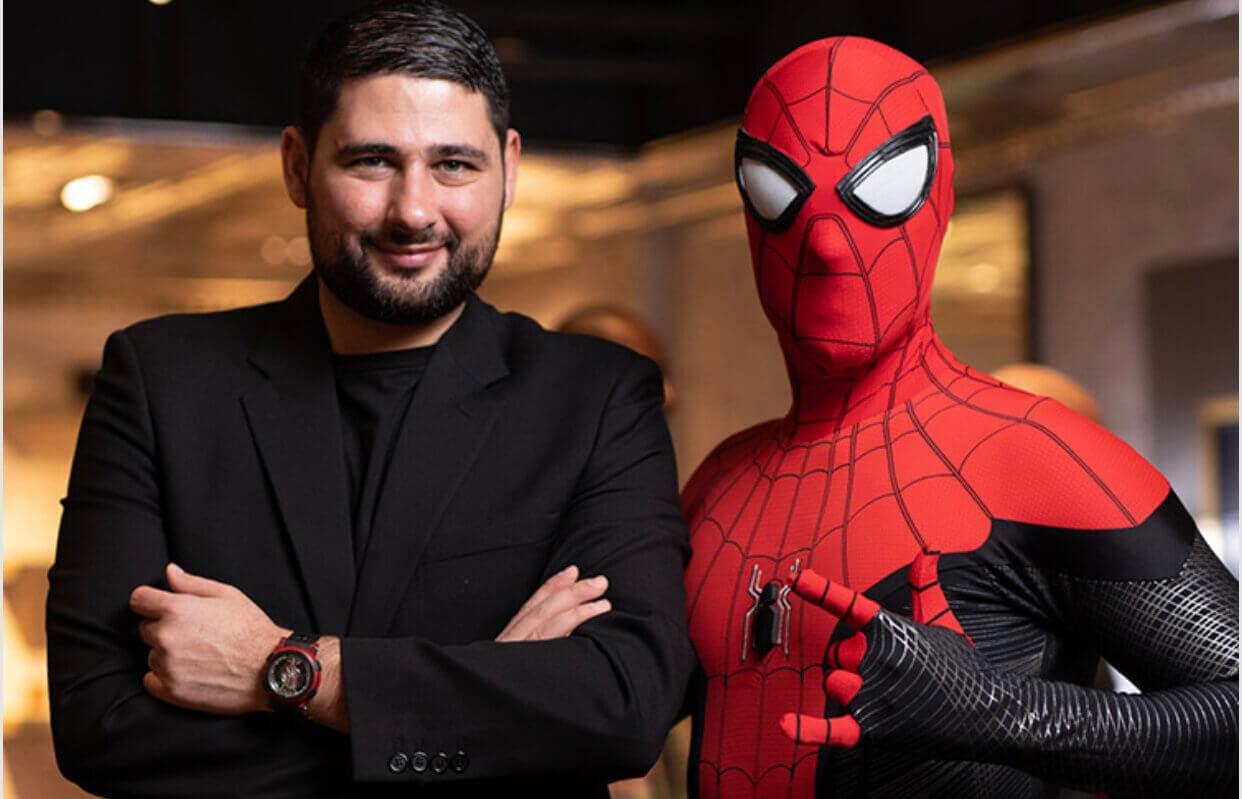 RJ spider man