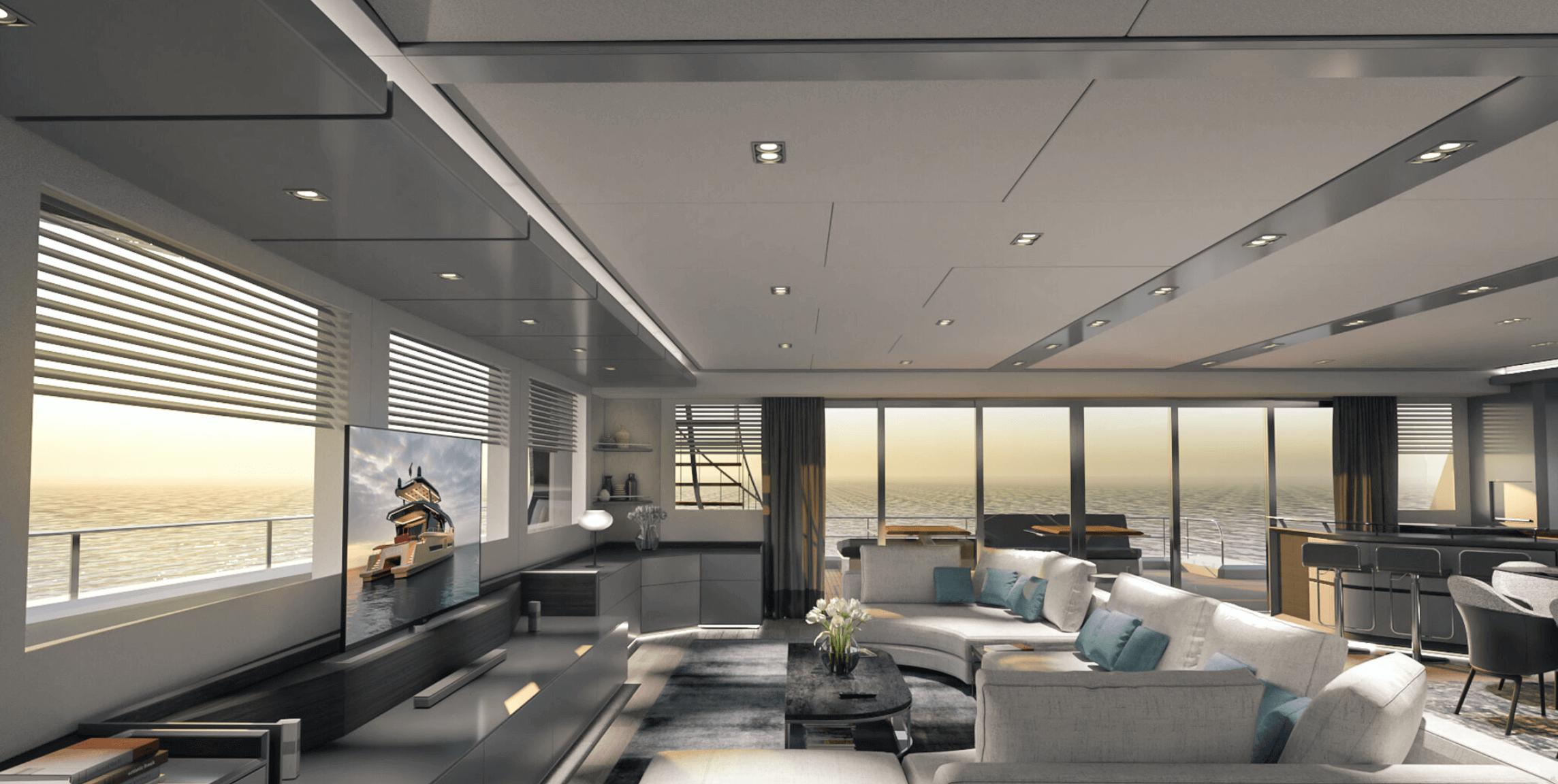 elektrikli alva yacht iç tasarım