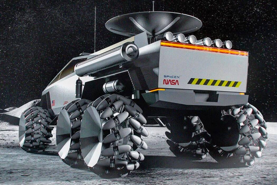 tesla spacex cybertruck tasarımı