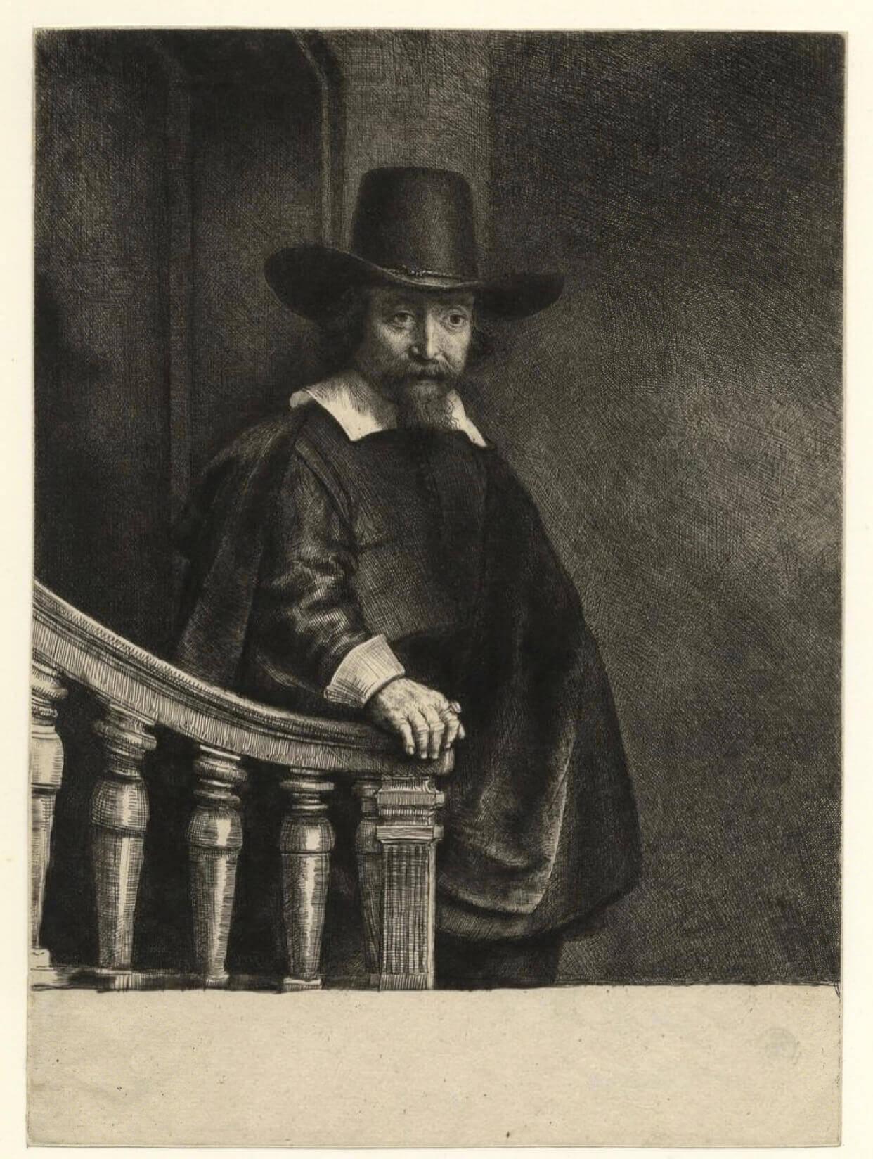 rembrandt baskı resim