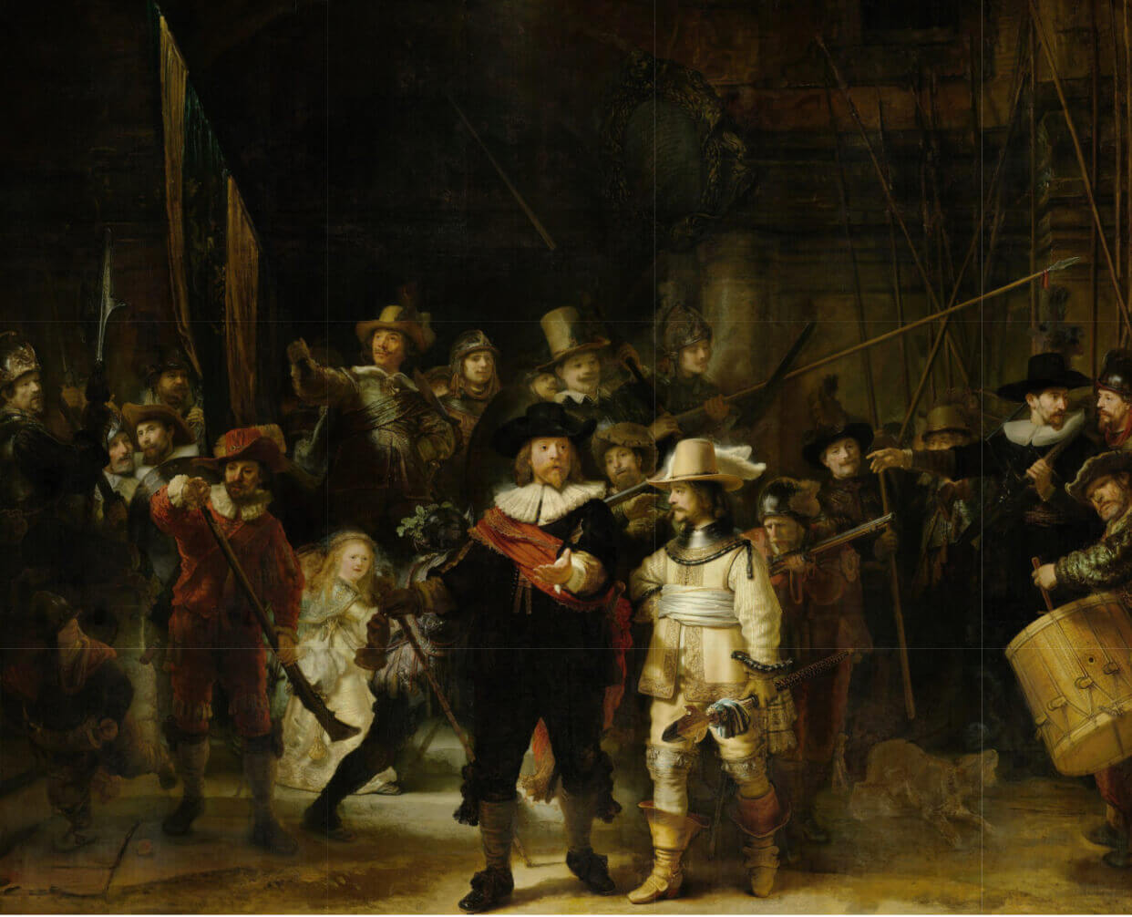 rembrandt akşam nöbeti