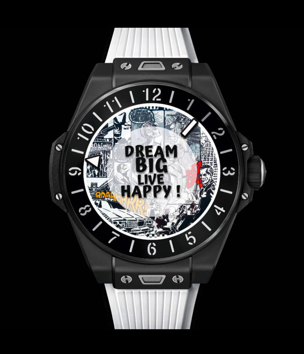 hublot big bang e art watch