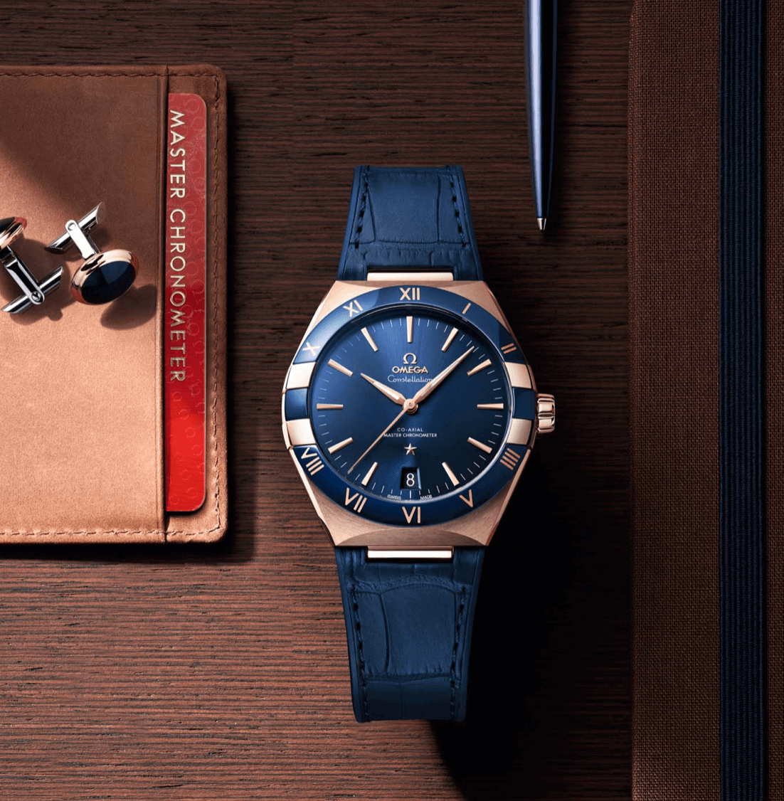 Omega Constellation Gents yazılar