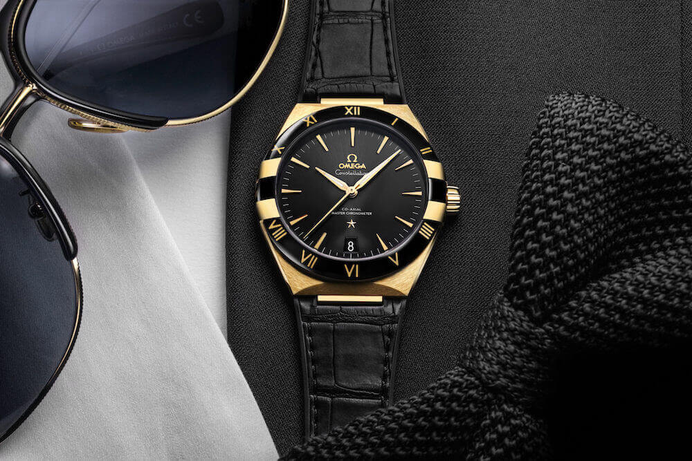 Omega Constellation Gents saat tasarımı
