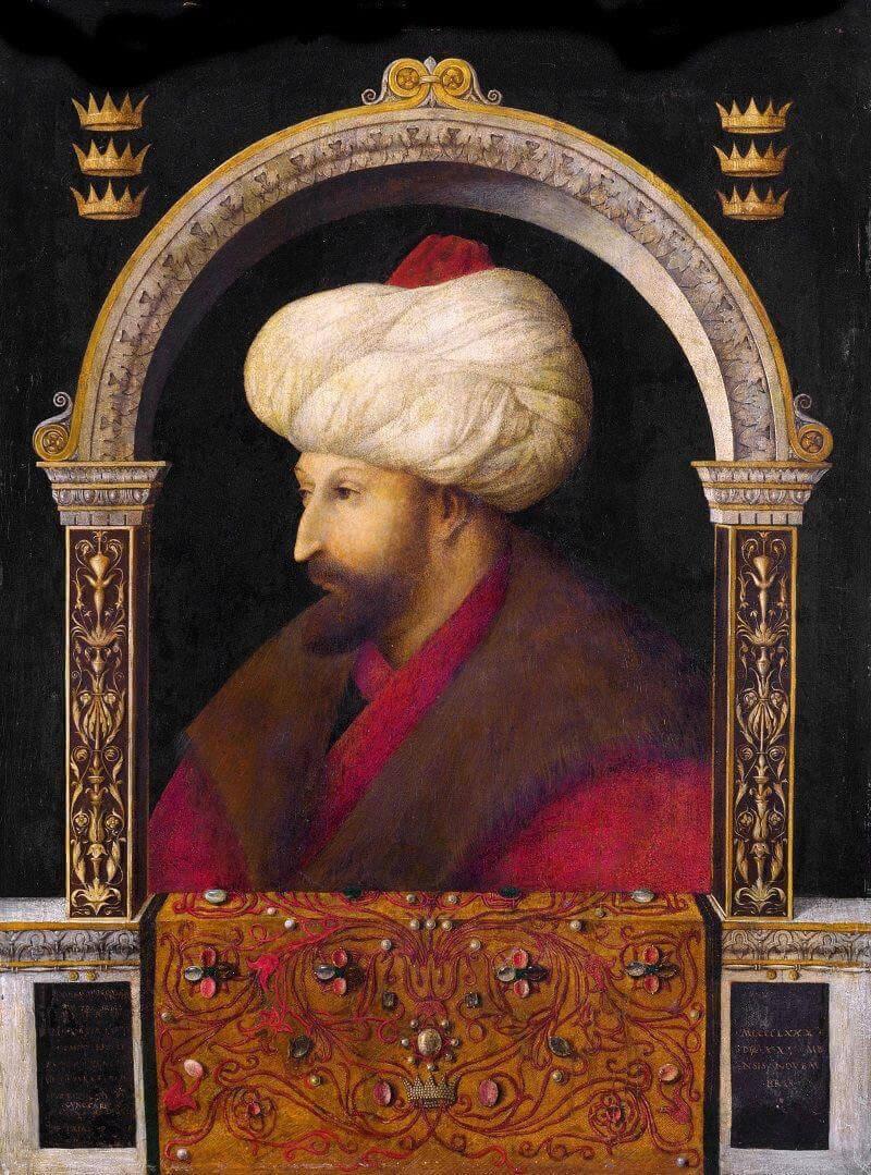fatih sultan mehmet portre