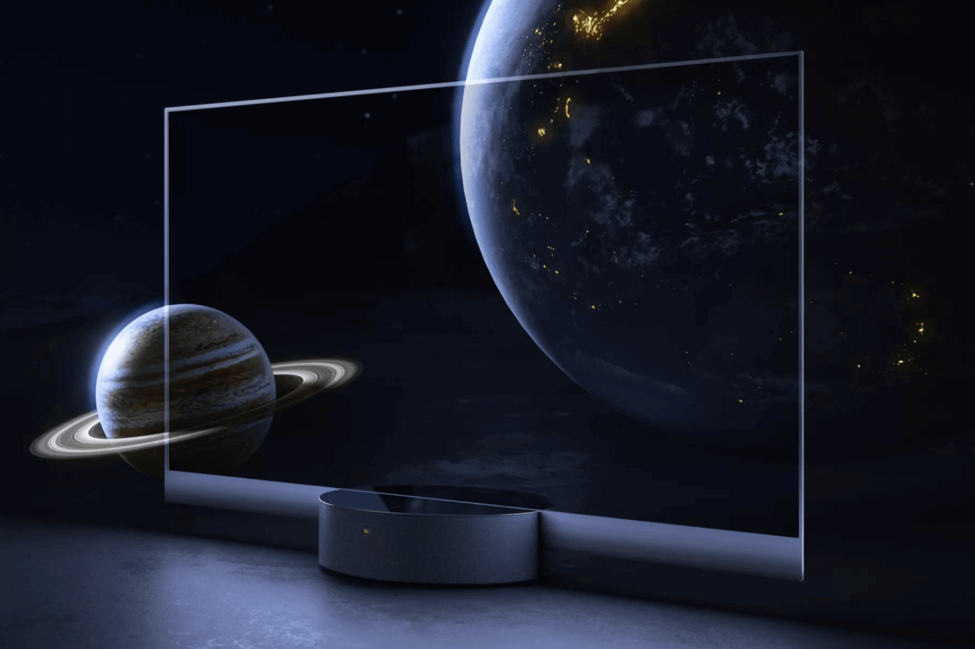 Mi TV LUX Transparent Edition televizyon bilgi