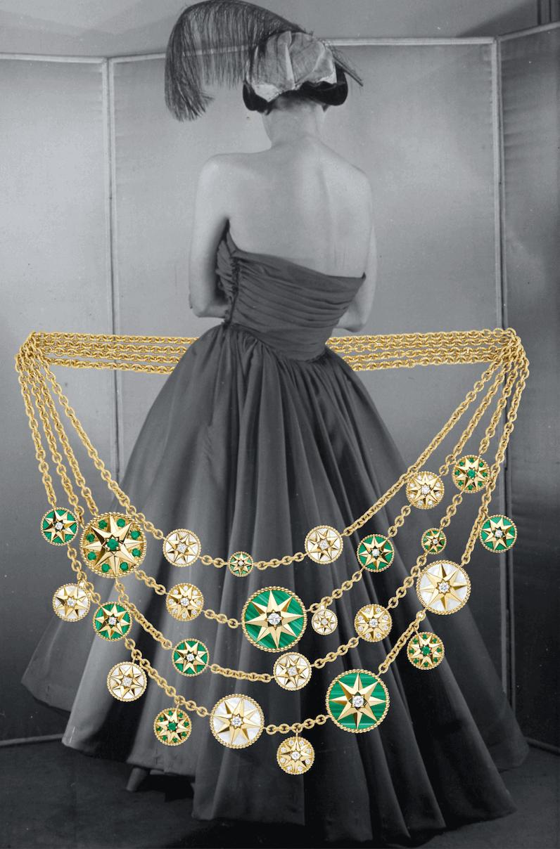 dior Rose des Vents mücevher koleksiyon fotoğraf