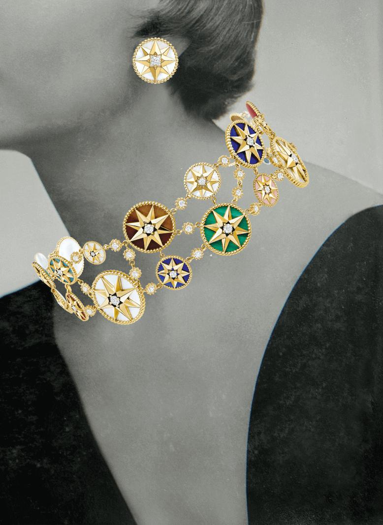 dior Rose des Vents mücevher koleksiyon model