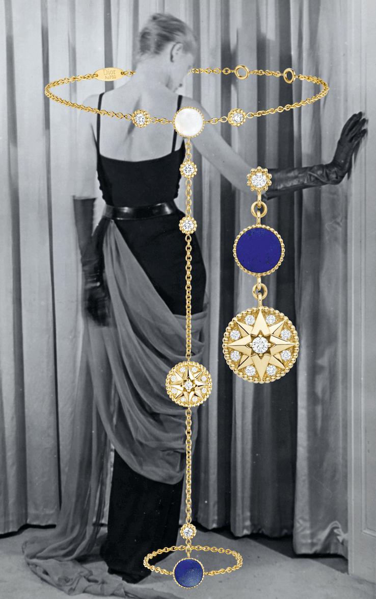 dior Rose des Vents mücevher koleksiyon tasarımı