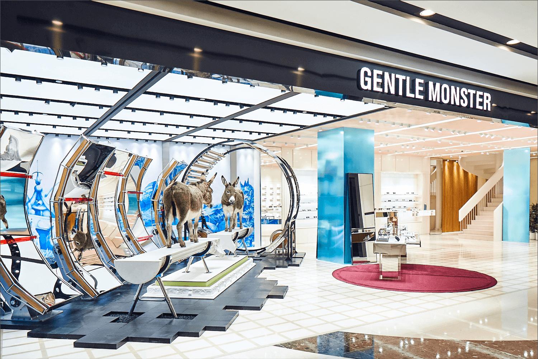 Gentle Monster mağaza tasarımı