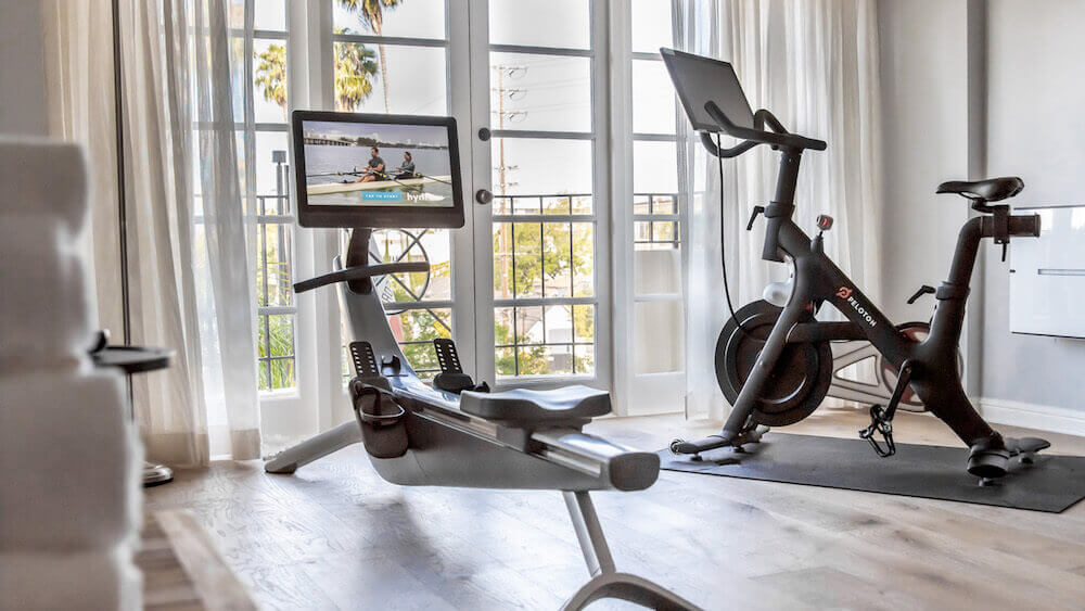 four seasons los angeles özel fitness süit foto