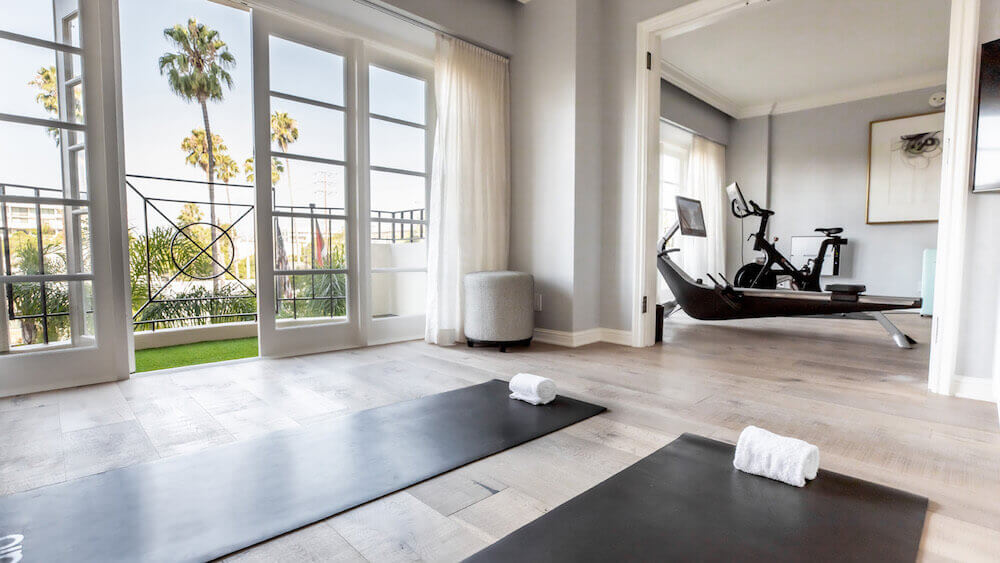 four seasons los angeles özel fitness süit bilgi