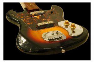 japanese sunburst gitar