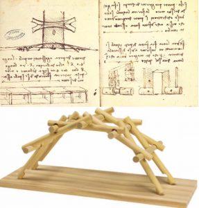 tahta köprü, leonardo da vinci
