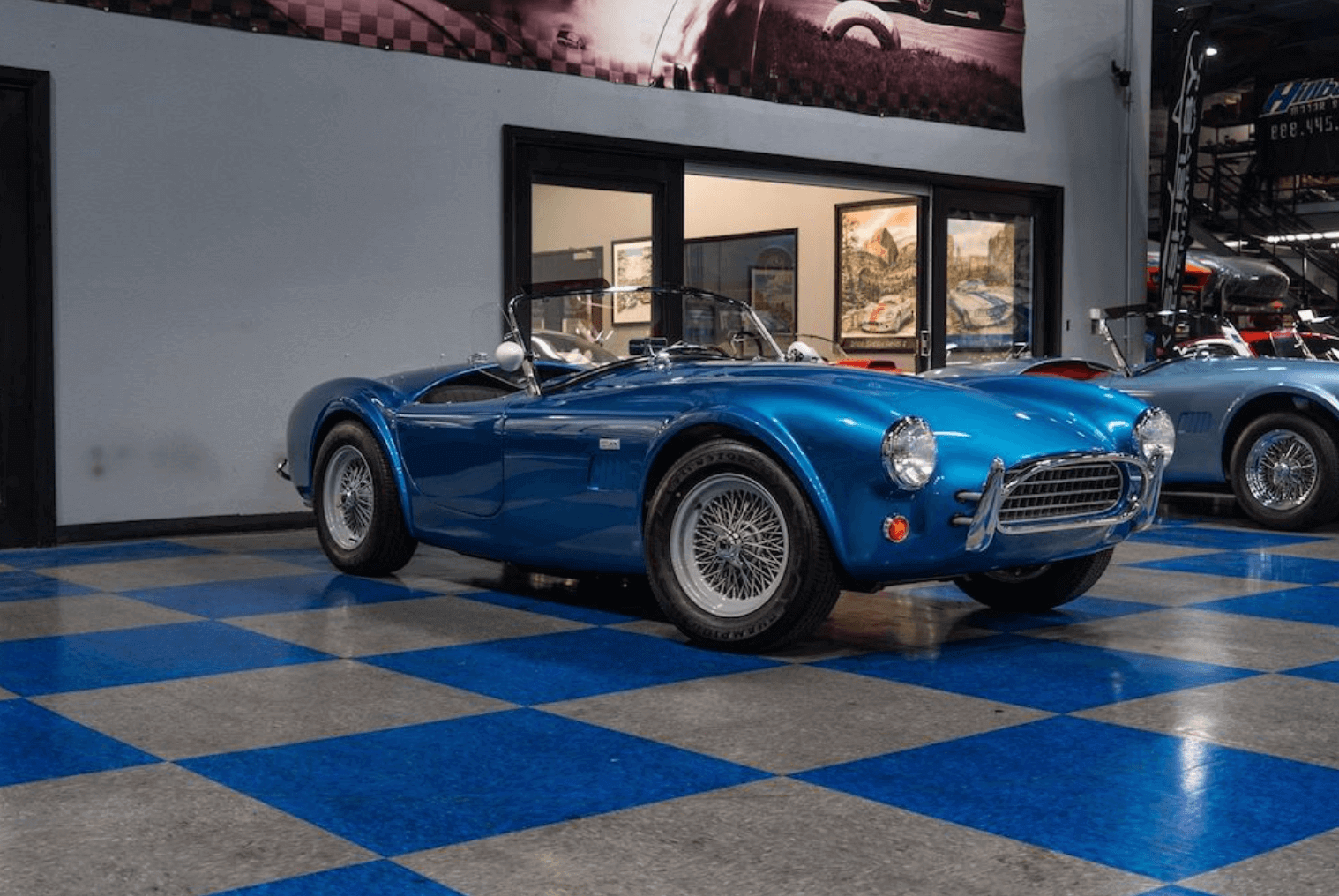 1962 MKII Shelby 289 Slab Side bilgi