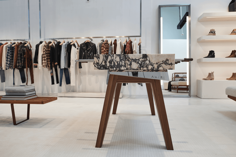 amiri beverly hills mağaza tasarımı