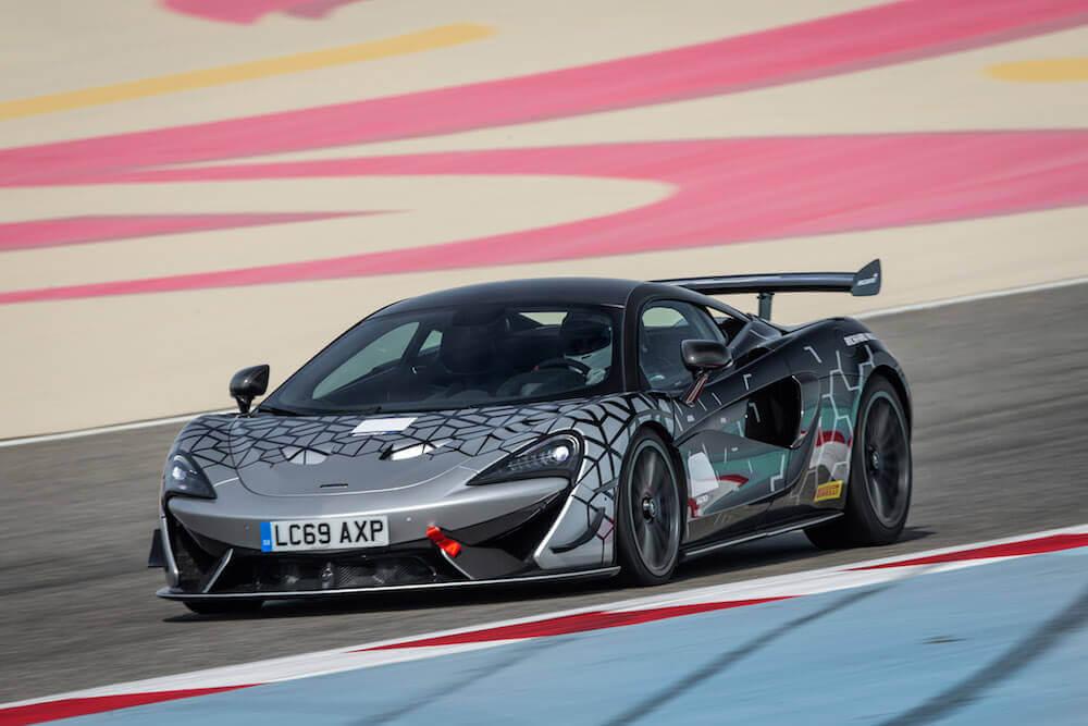 McLaren 620R fotoğraf