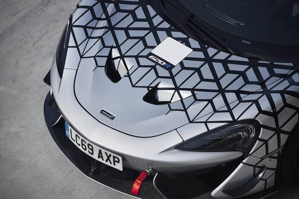 McLaren 620R detaylar