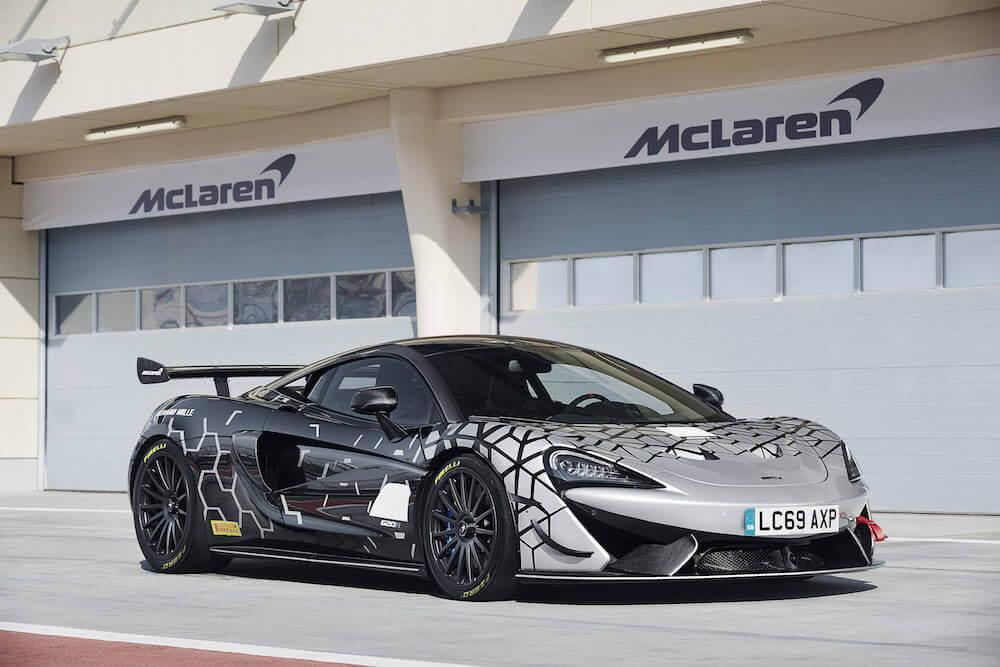 McLaren 620R araba bilgi