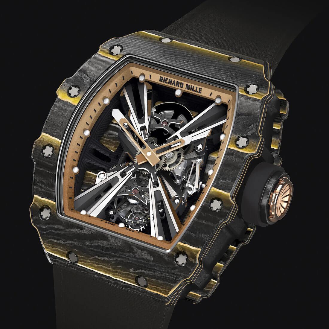 Ricaher Mille RM 12-01 Gold Carbon TPT saat haber