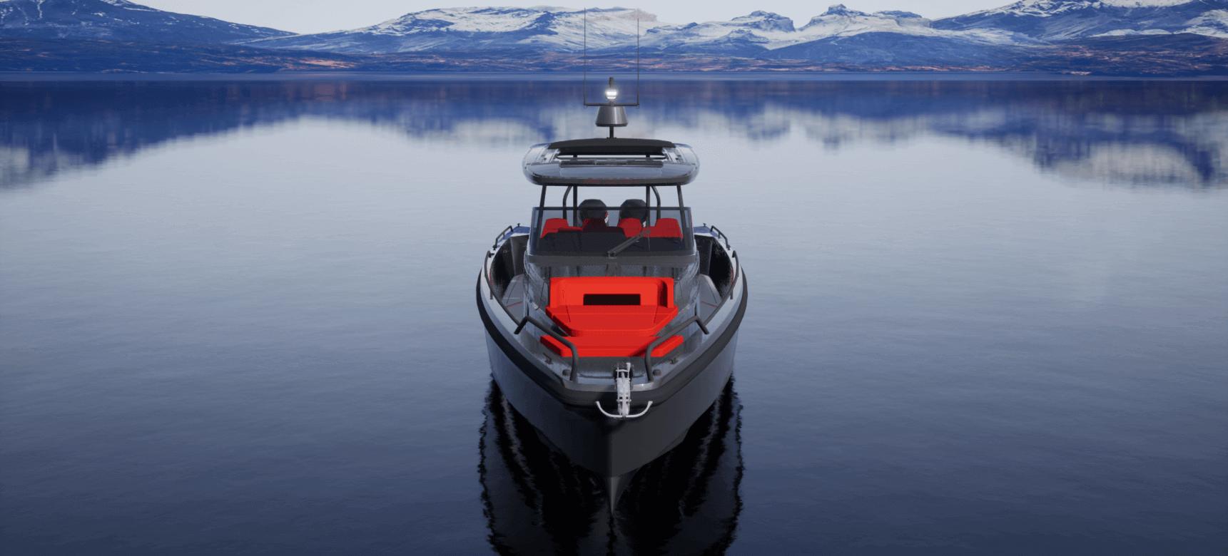 Brabus Shadow 900 XC Cross Cabin tekne