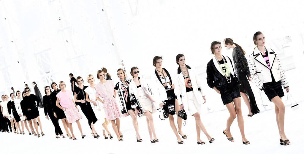 paris fashion week chanel foto