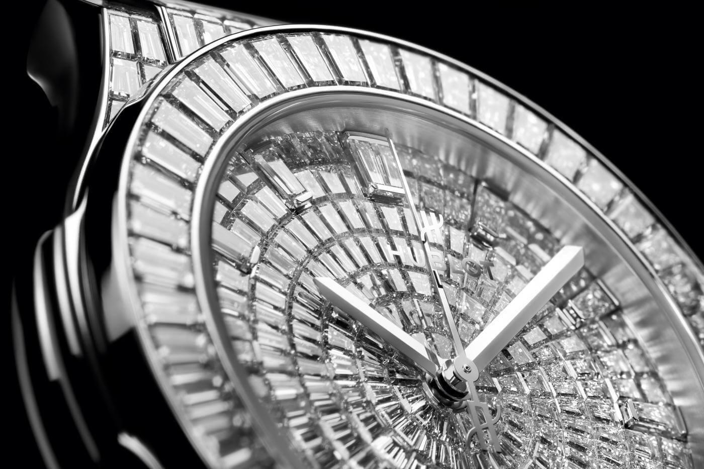 hublot mücevher saat koleksiyon yazı