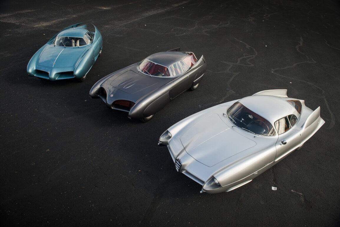 Üç Alfa Romeo Berlina Aerodinamica Tecnica konsept foto