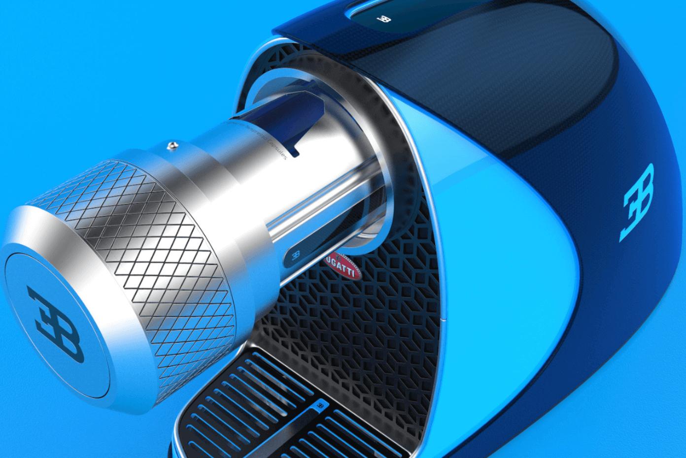 Bugatti Etiron kahve makinesi blog haber
