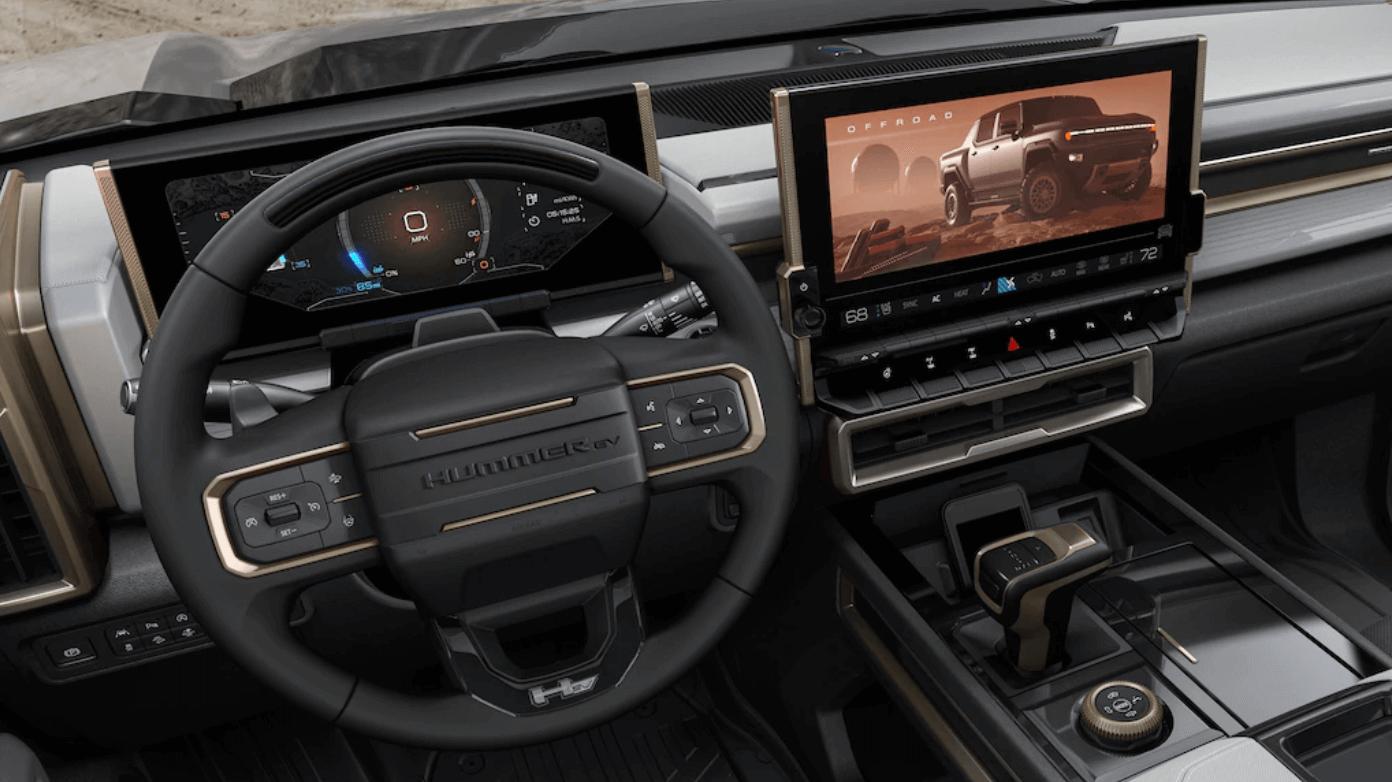 Hummer EV Edition 1 iç tasarım