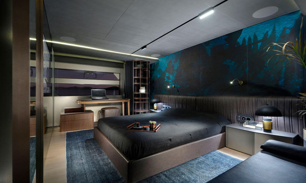 mazu 82 yat iç tasarım