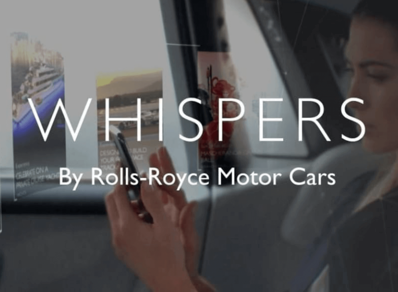Rolls-Royce Whispers Uygulaması foto