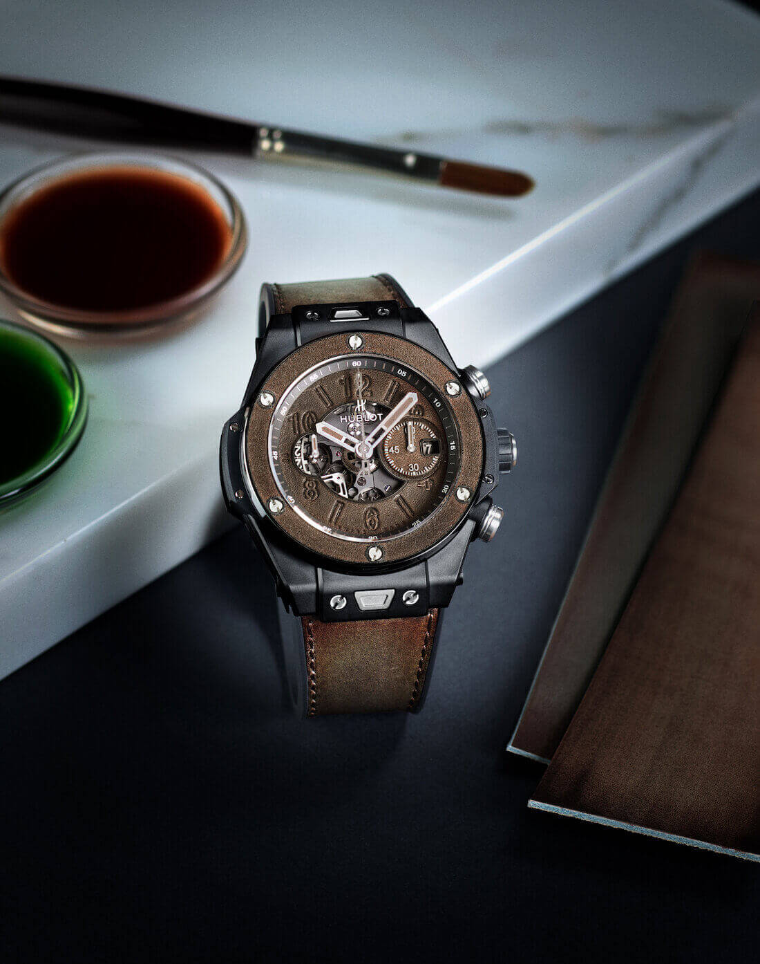 Hublot Big Bang Unico Berluti Cold Brown bilgi