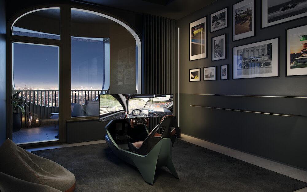 aston martin özel tasarım ev