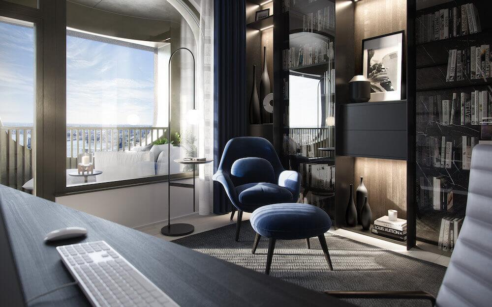 aston martin özel tasarım ev görsel