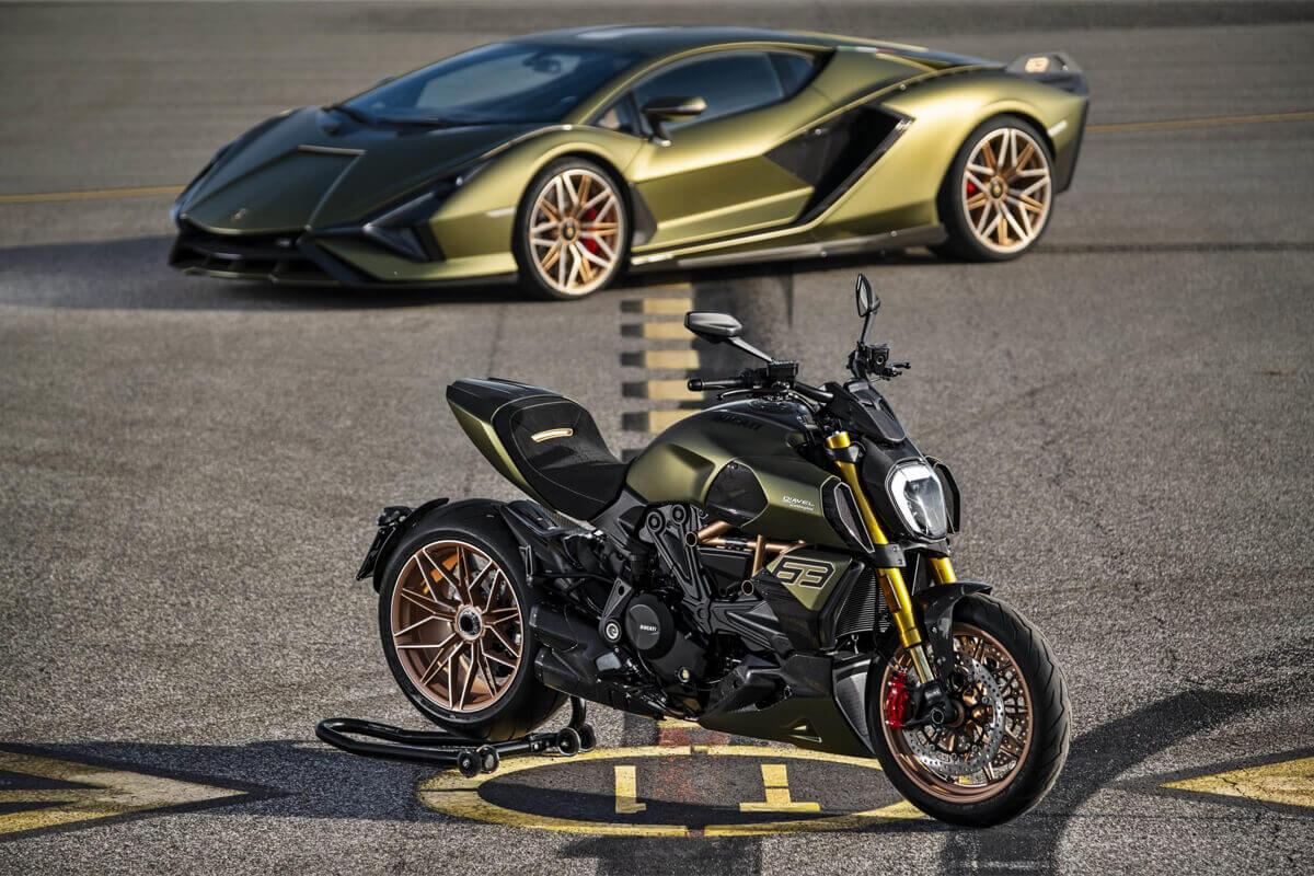 Ducati Diavel 1260 lamborghini tasarım