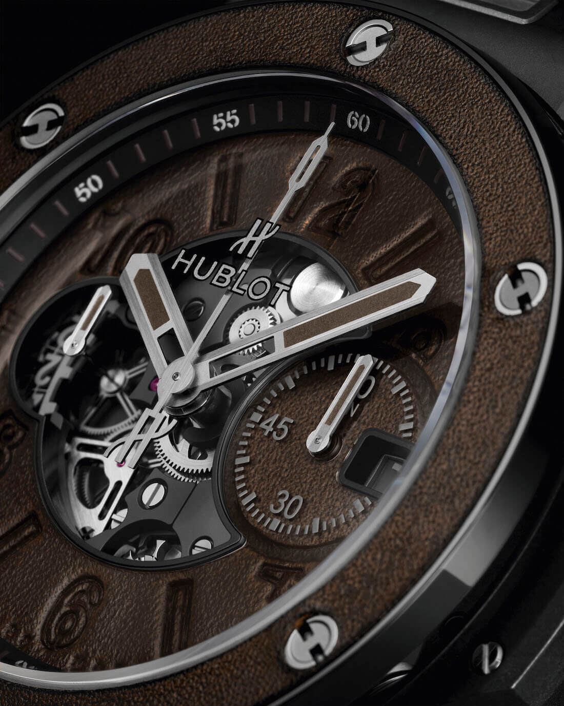 Hublot Big Bang Unico Berluti Cold Brown foto