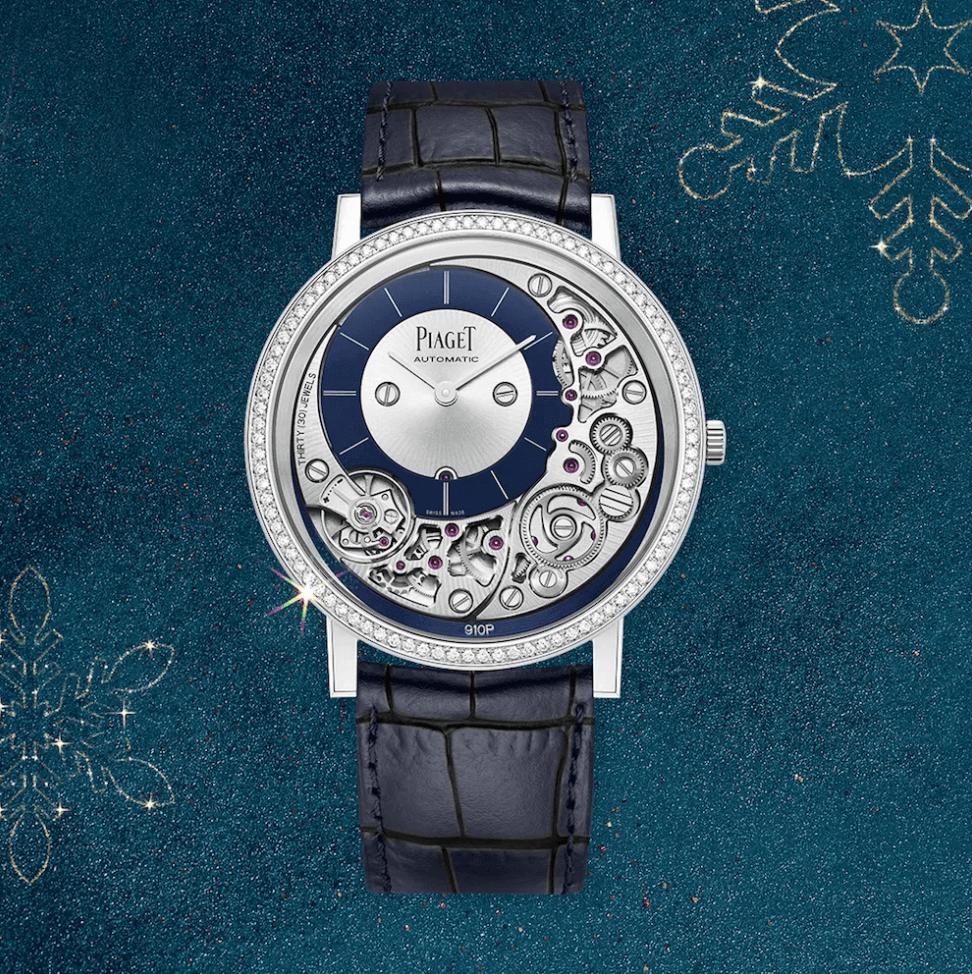 piaget altiplano mücevher koleksiyon saat tasarımı