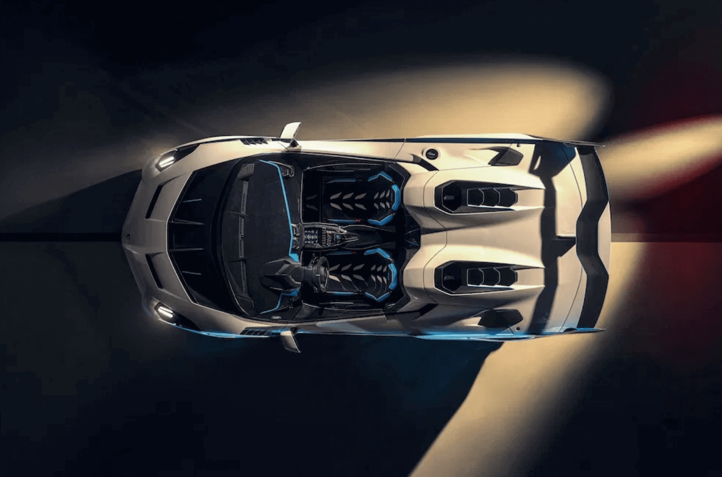 Lamborghini Squadra Corse sc20 iç tasarım