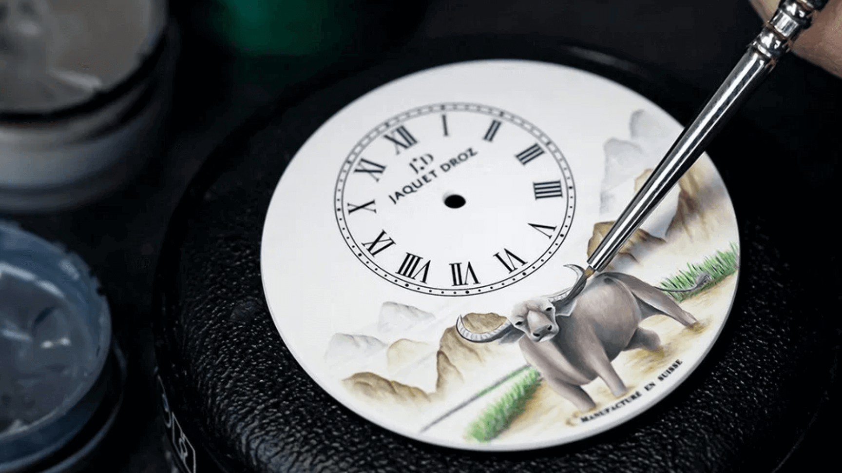 jaquet droz çin yılı öküz saat tasarım