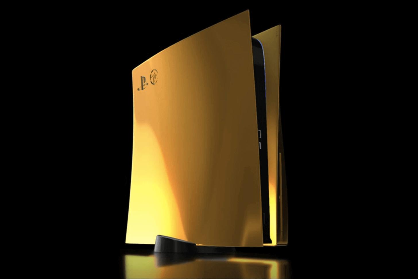Goldgenie, PlayStation PS5'in 24 ayar altın hakkında bilgi