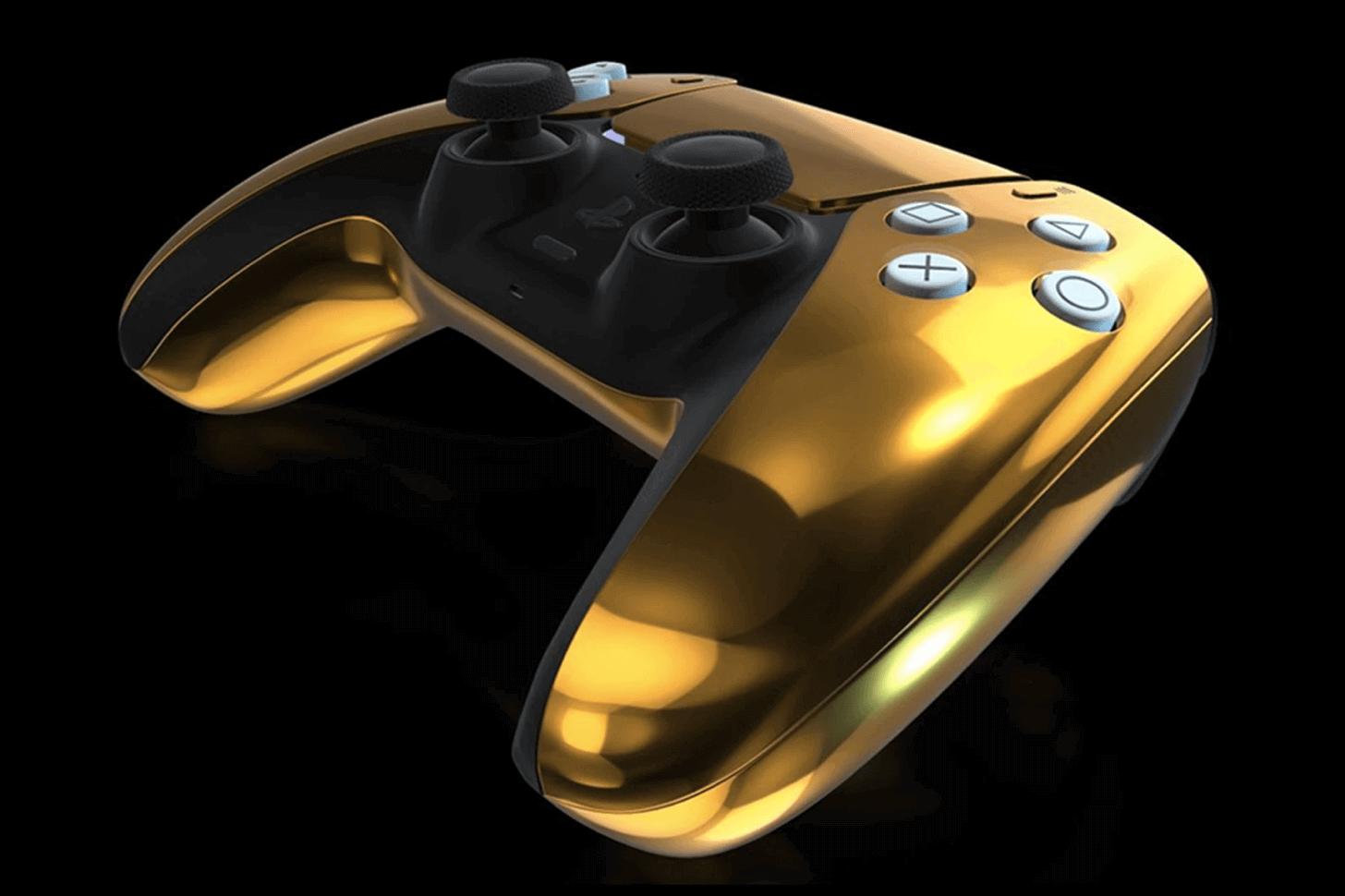 Goldgenie, PlayStation PS5'in 24 ayar altın blog yazılar
