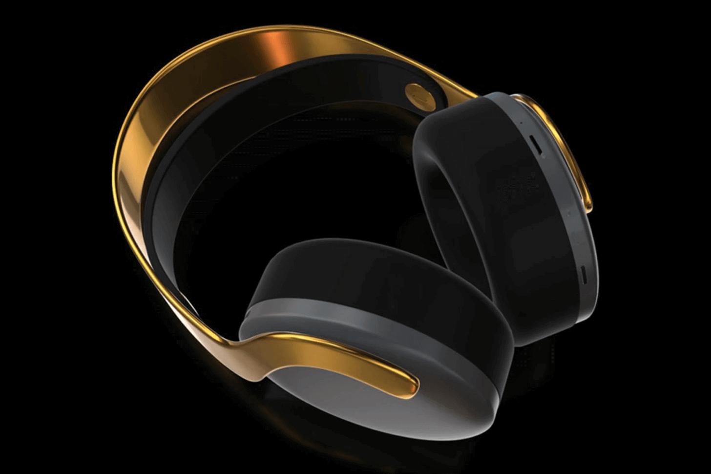 Goldgenie, PlayStation PS5'in 24 ayar altın foto
